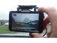 Lukas LK-9700 Duo 2 Channal Full HD GPS touch screen Dash Cam