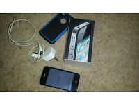 iphone 4s 16gb, unlocked, with box,& charger....good condition