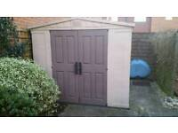 Keter shed 11' x 8'