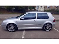 2002 52 REG VOLKSWAGEN GOLF ANNIVERSARY TDI 150 ONE PREVIOUS OWNER SERVICE HISTORY