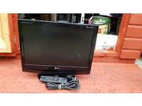 "LG 19"" DIGITAL TV AND MONITOR WITH REMOTE"