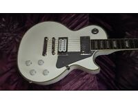 Epiphone Les Paul White Lightning Tommy Thayer Limited Edition KISS