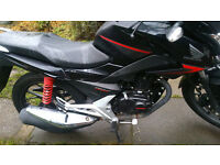 honda cb125f. ..cb 125 f....2015...lovely bike..fsh