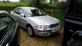 Volvo S40 2002 1.6 manual, 41000 miles amazing condition, 12 months MOT, full Volvo service history