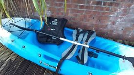 Perception Sccoter Kayak and Accessories