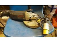 bosch professional 9 inch angle grinder 110v