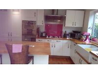 Kitchen Units and Solid Walnut Worktops - Buyer collects