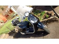 REDUCED_ Excellent Vespa 300GTS. Black, stylish, low miles, reliable.....and a great ride!