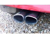 Vauxhall Astra mk4 irmisher exhaust