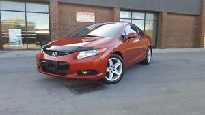2012 Honda Civic Cpe SI OKG / VAVIGATION / 6 SPEED MANUAL
