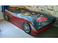 Racing Car Childs Bed