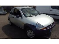 2004 Ford Ka collection 1.3 silver. Very long MOT and very good runner