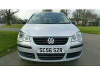 2007***VOLKSWAGEN POLO 1.2cc***3 DOOR HATCHBACK***SILVER***HPI CLEAR**CLEAN IN & OUT**LONG MOT & TAX
