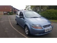 Chevrolet Kalos 1.2 Petrol 2006, 5 door hatchback *FSH*