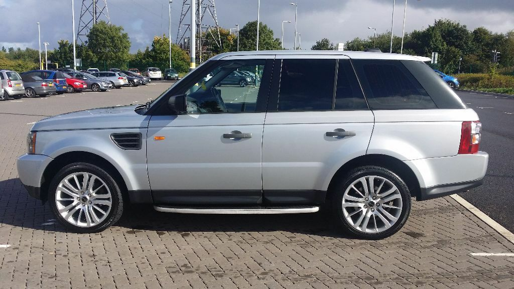 2007 land rover range rover sport s tdv6 silver in wirral merseyside gumtree. Black Bedroom Furniture Sets. Home Design Ideas