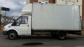 REMOVAL SERVICE - MAN WITH LUTON VAN WITH TAIL LIFT - 07588441261