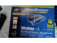 Broadband Router with Speed Booster