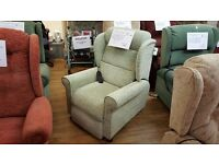 Willowbrook 'Petite' Riser Recliner Chair with In-built Massage System