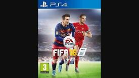 New ps4 PlayStation 4 game Fifa 16 postage available