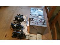 Daiwa windcast z5000 reels with boxes x3 mint cond