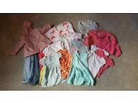 Girls summer clothes bundle aged 18-24 months