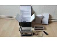 John Lewis pasta machine with all accessories RRP £35