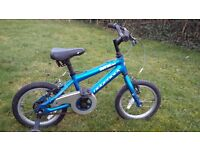 Child's Ridgeback Bicycle. Suit 2 years + Good condition with stabilisers.