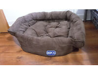 Cat Bed - Oval Brown
