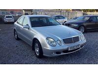 Mercedes Benz E CLASS 2148cc DIESEL, SALOON, SILVER, AUTOMATIC,LONG MOT.**LOW MILEAGE**