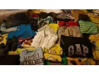Bundle of boys clothing 4 - 5 years