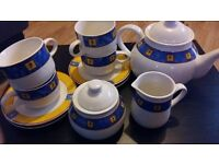 Trade Winds Tableware Tea set - Vintage collectors