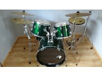 CB Drum Kit with Cymbals and Stands