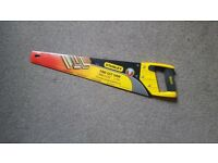 £4 hand saw mainly for branches, hedges and wood based materials.
