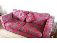 Attractive DFS Sofa Bed & Storage Footstool