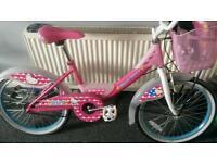 Girls hello kitty bike (BARGAIN)!!