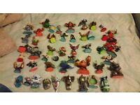Skylanders figures bundle over 50 figures from all skylanders games