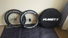 Planet X Wheels 101/82 Tubular Wheelset