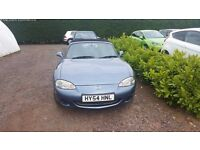 54 Plate Mazda MX-5, only 34000 miles! Good condition!