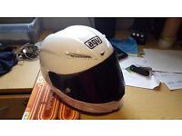 AGV Corsa motorcycle helmet - Clear & Dark visor - like new