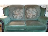 Cottage sofa and 2 chairs