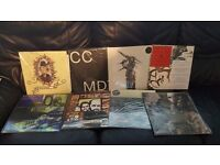 54 indie/metal/punk/ambient vinyl records:The hives,Indian summer,Rival sons...