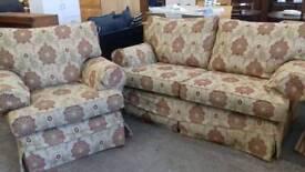 Multiyork 2 seater and armchair