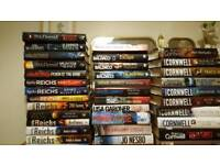 35 hard back novels in very good condition