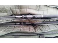 Nash 2 rod scope set up carp fishing