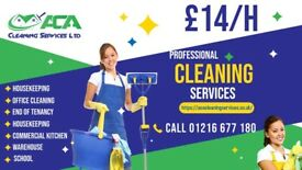 Domestic and Commercial cleaning services £14/h