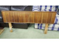 Solid Wood Double Bed Headboard