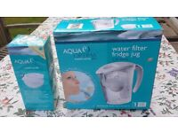 BRAND NEW WATER FILTER JUG + 4 CARTRIDGES AQUA OPTIMA