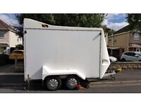 VALETING Heavy Duty Twin Axle Independent suspension Trailer REDUCED £4,500.00