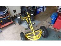 berg go-kart super af version yellow