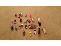 Micro Machines large set plus spare cars boys toys